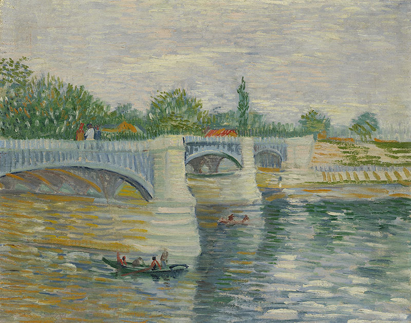 Vincent van Gogh The Bridge at Courbevoie