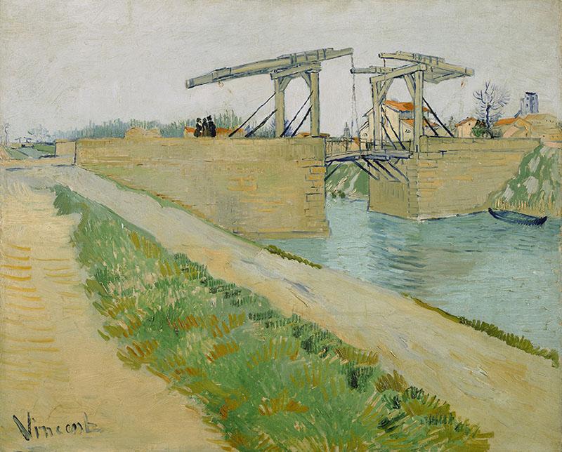 Vincent van Gogh The Langlois Bridge