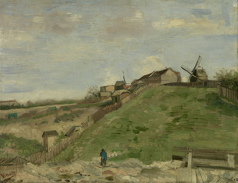 Vincent van Gogh The Hill of Montmartre with Stone Quarry (2)