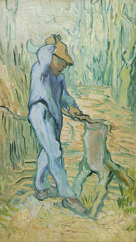 Vincent van Gogh The Woodcutter (after Millet)