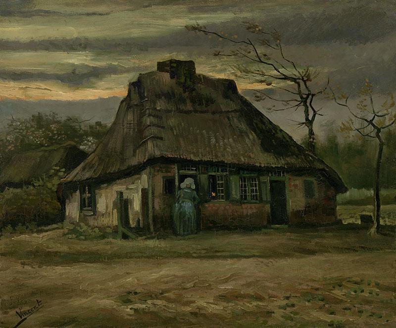 Vincent van Gogh The Cottage