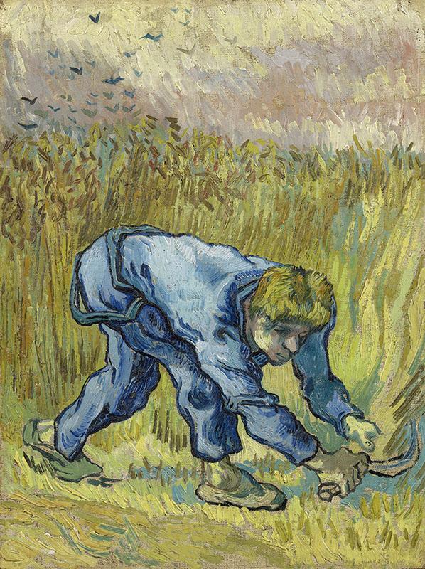 Vincent van Gogh The Reaper (after Millet)