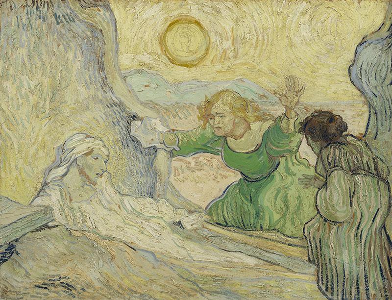 Vincent van Gogh The Raising of Lazarus (after Rembrandt)