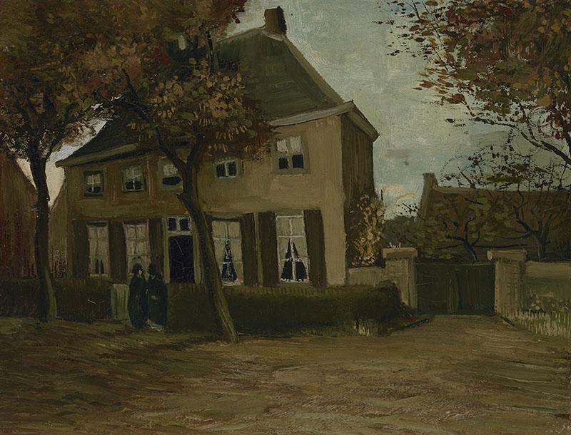 Vincent van Gogh The Vicarage at Nuenen