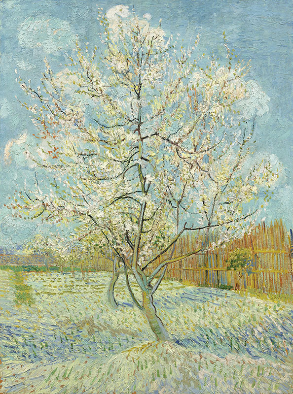 Vincent van Gogh The Pink Peach Tree