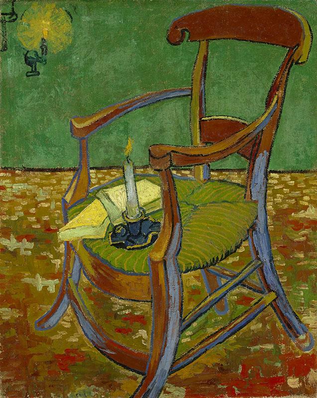 Vincent van Gogh Gauguin's Chair