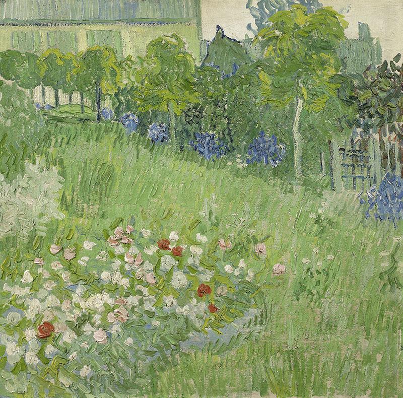 Vincent van Gogh Daubigny's Garden