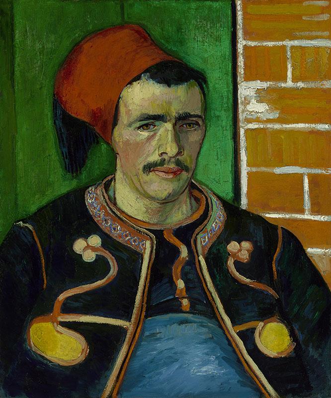 Vincent van Gogh The Zouave