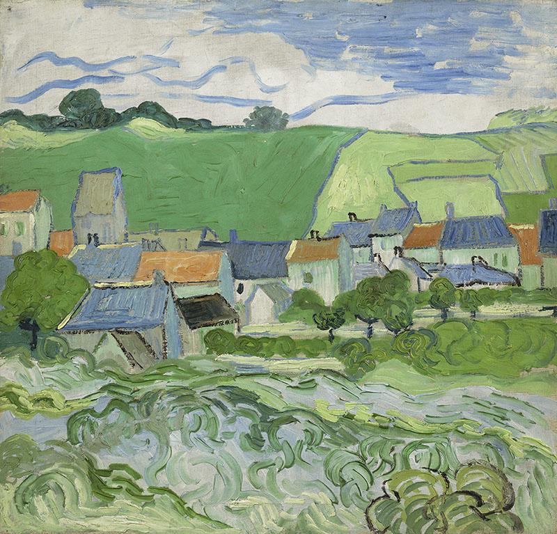 Vincent van Gogh View of Auvers