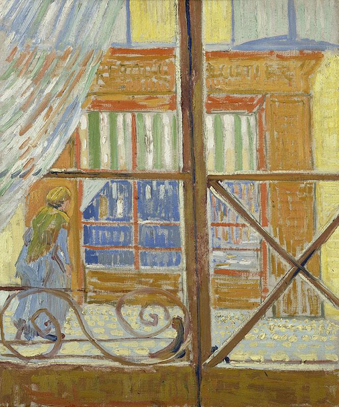Vincent van Gogh View of a Butcher's Shop