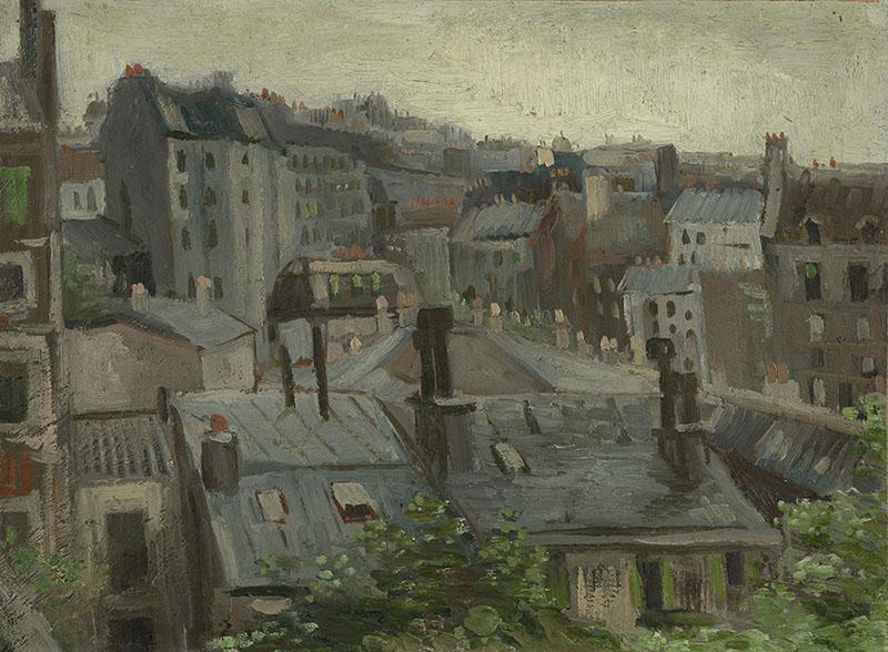 Vincent van Gogh View from Vincent's Studio