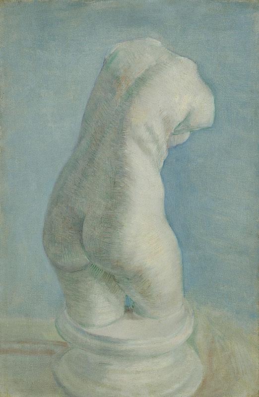 Vincent van Gogh Plaster Cast of a Woman's Torso (2)