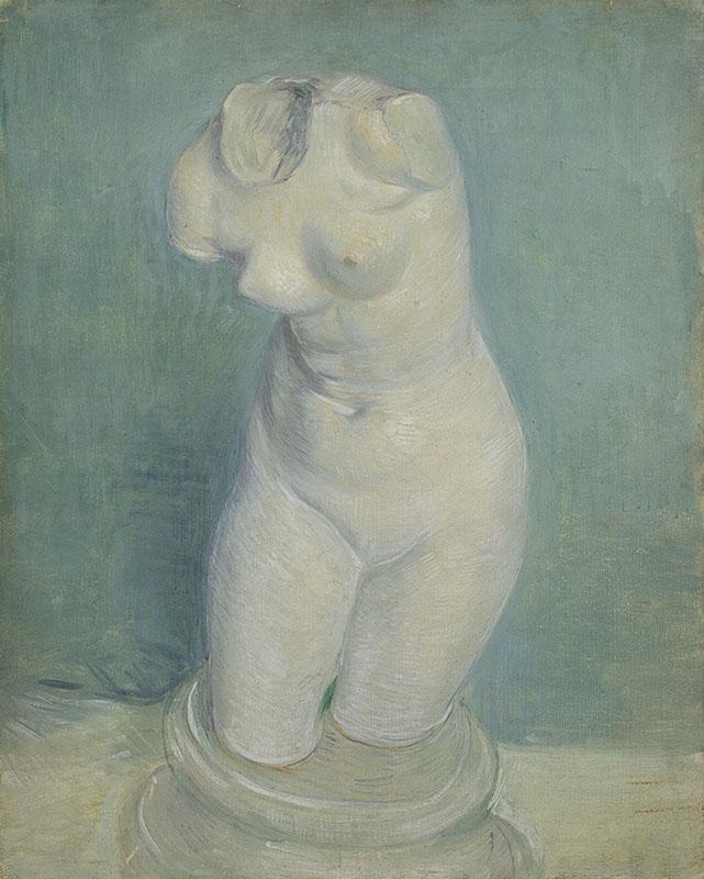 Vincent van Gogh Plaster Cast of a Woman's Torso (3)