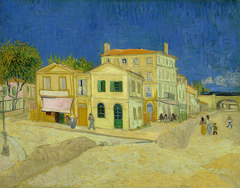 Vincent van Gogh The Yellow House (The Street)