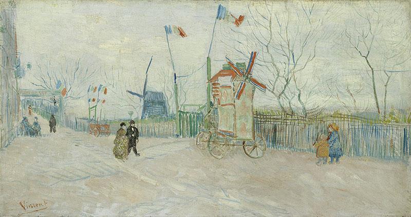 Vincent van Gogh The Impasse des Deux Frères