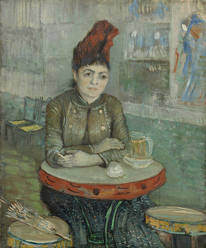 Vincent van Gogh In the Café: Agostina Segatori in Le Tambourin
