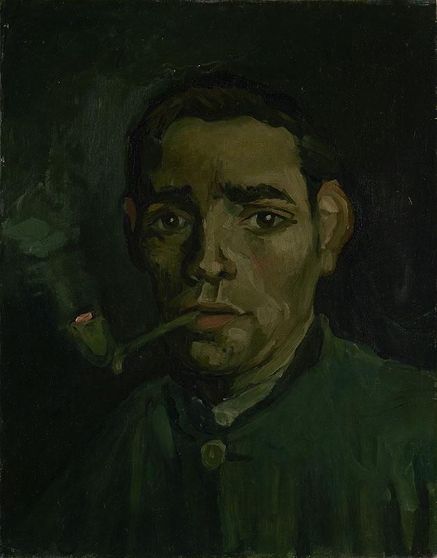Vincent van Gogh Head of a Man (2)