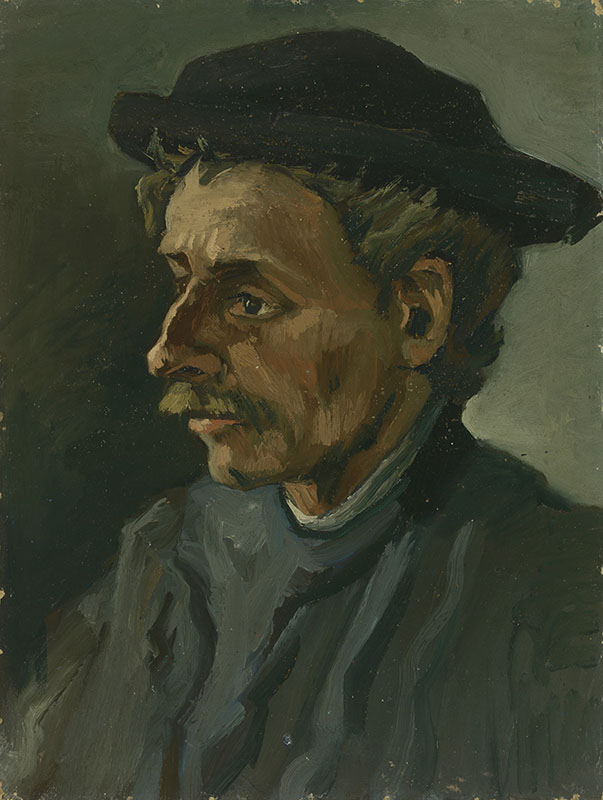 Vincent van Gogh Head of a Man