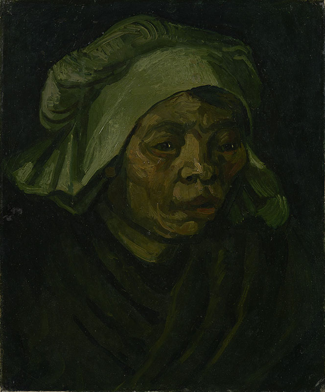 Vincent van Gogh Head of a Woman (2)