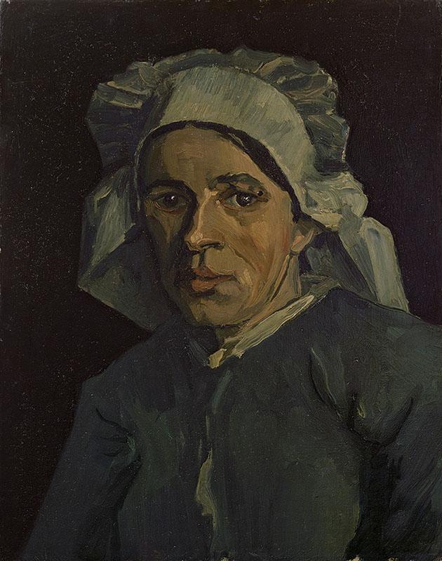 Vincent van Gogh Head of a Woman (3)