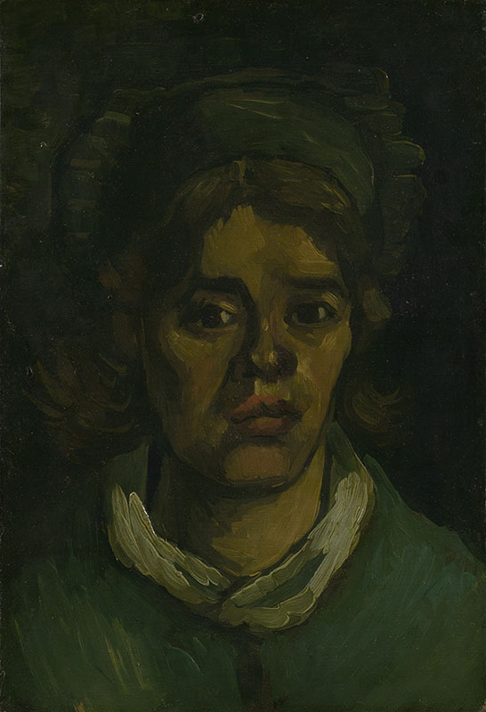 Vincent van Gogh Head of a Woman (5)