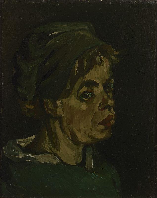 Vincent van Gogh Head of a Woman (6)