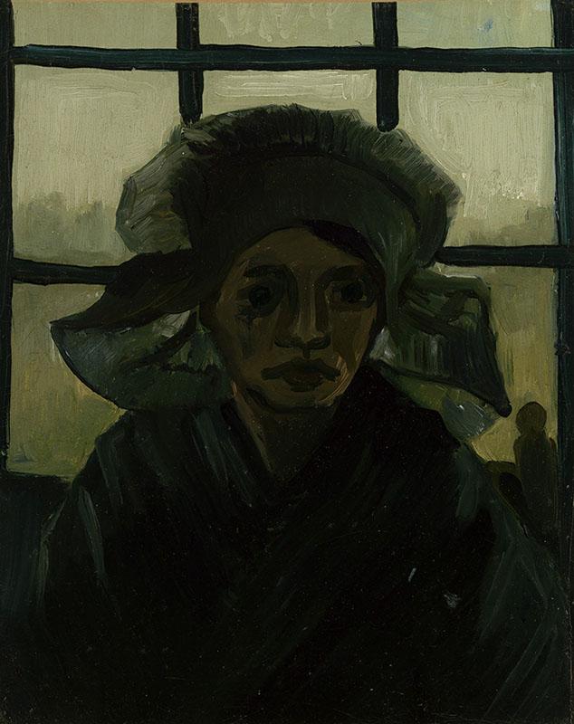 Vincent van Gogh Head of a Woman (7)