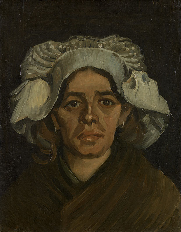 Vincent van Gogh Head of a Woman (8)