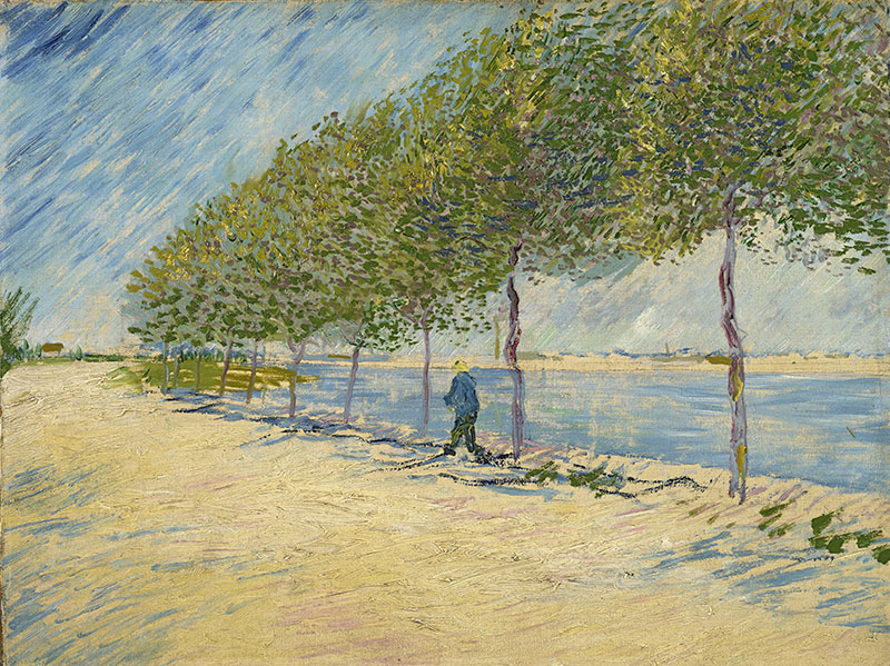 Vincent van Gogh By the Seine