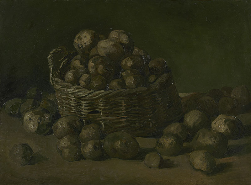 Vincent van Gogh Basket of Potatoes (2)
