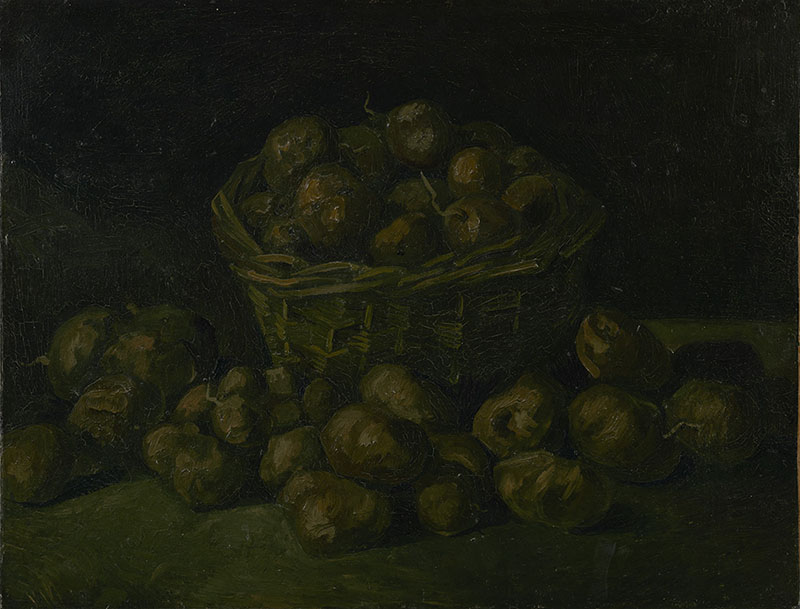 Vincent van Gogh Basket of Potatoes