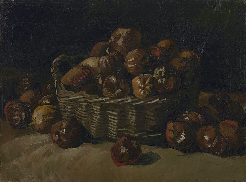 Vincent van Gogh Basket of Apples (2)