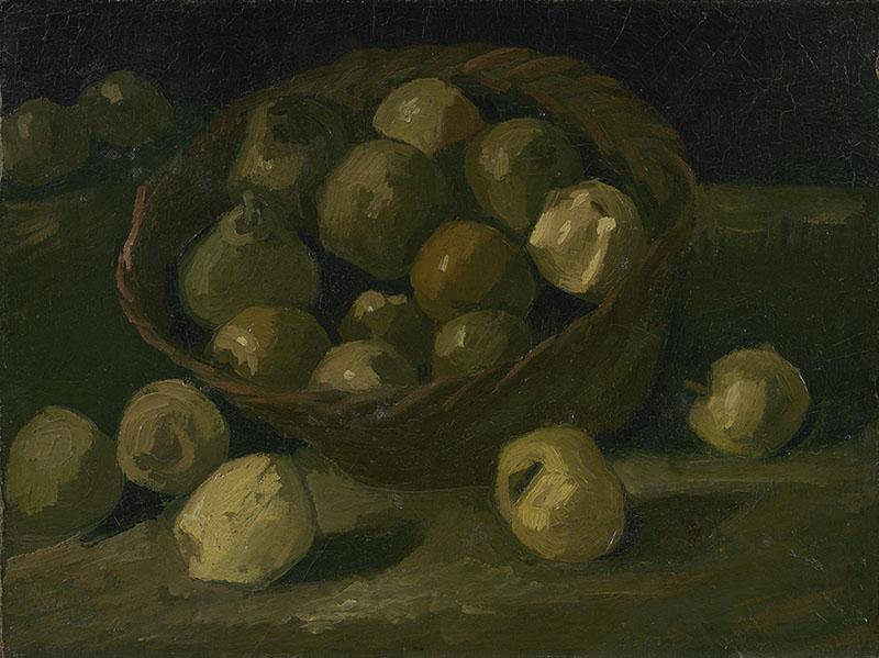 Vincent van Gogh Basket of Apples