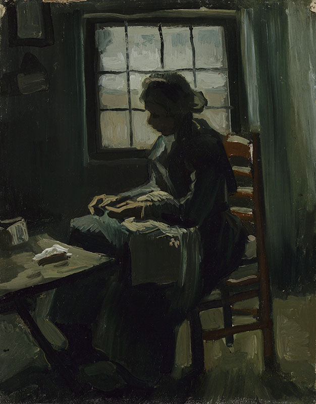 Vincent van Gogh Woman Sewing
