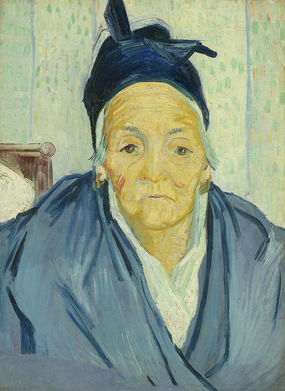Vincent van Gogh An Old Woman of Arles