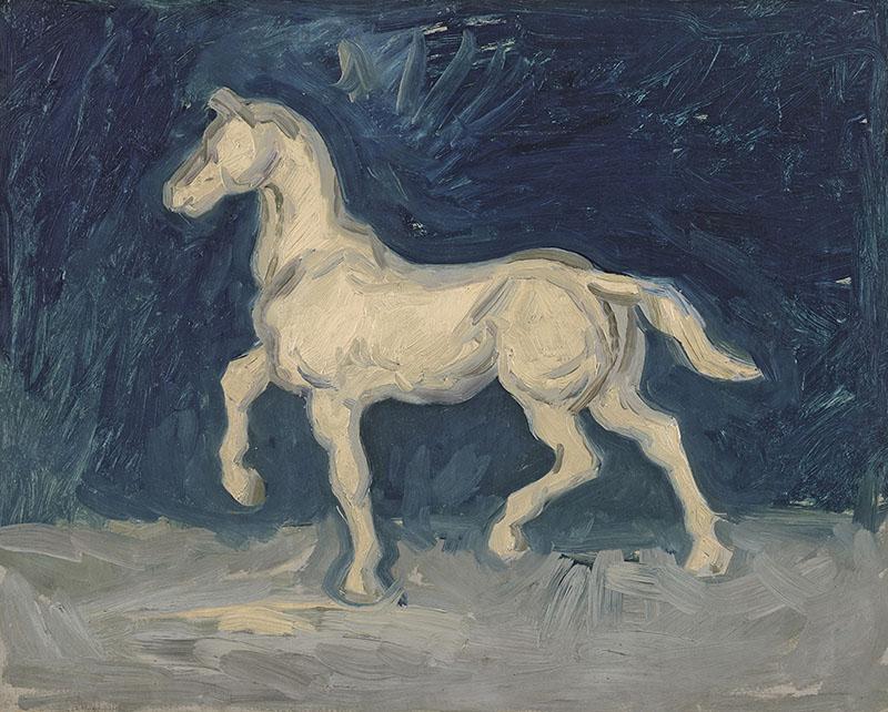 Vincent van Gogh Horse