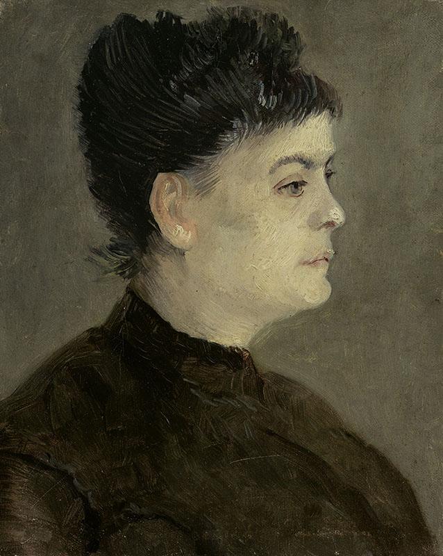 Vincent van Gogh Portrait of Agostina Segatori