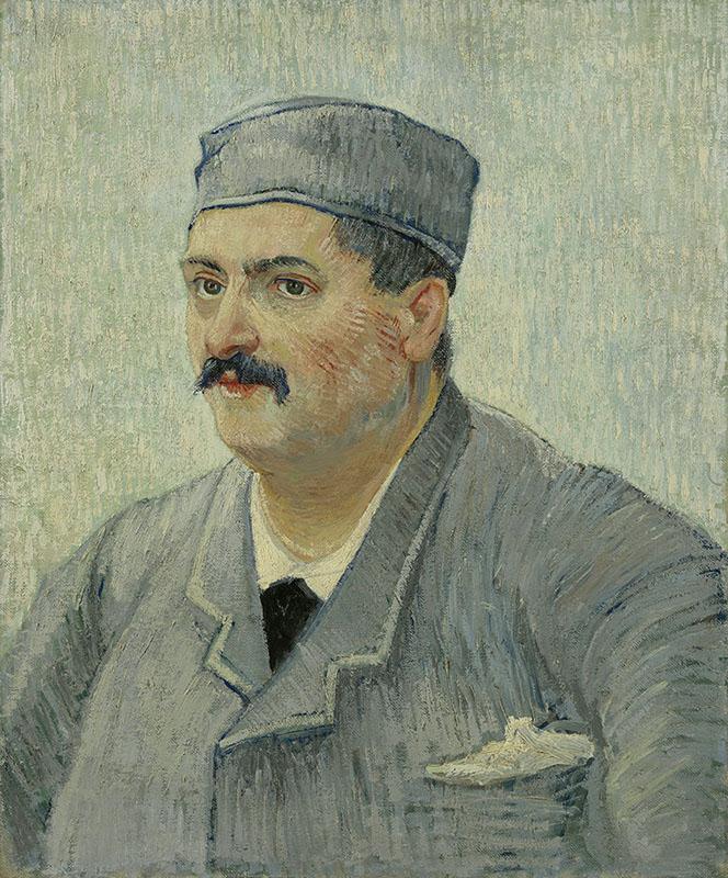 Vincent van Gogh Portrait of Etienne-Lucien Martin