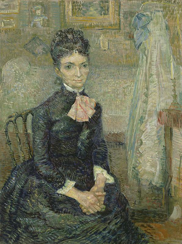 Vincent van Gogh Portrait of Léonie Rose Charbuy-Davy