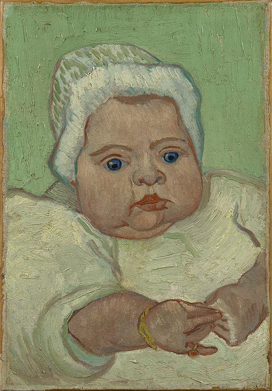Vincent van Gogh Portrait of Marcelle Roulin