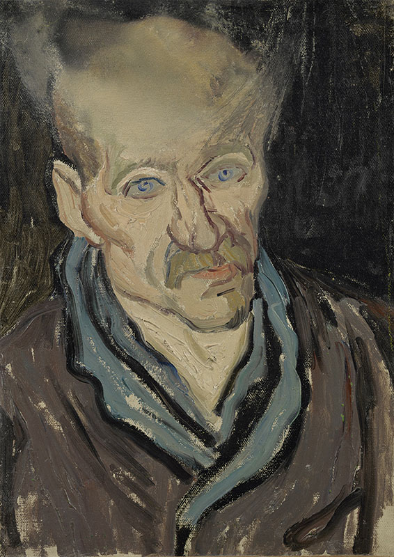 Vincent van Gogh Portrait of a Man