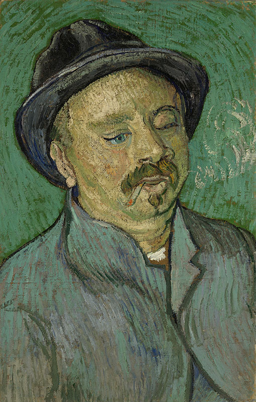 Vincent van Gogh Portrait of a One-Eyed Man