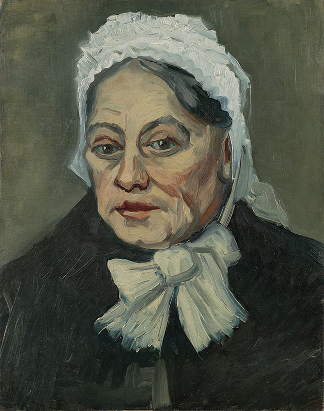 Vincent van Gogh Portrait of an Old Woman