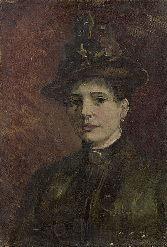 Vincent van Gogh Portrait of a Woman (2)