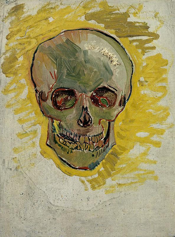 Vincent van Gogh Skull (2)