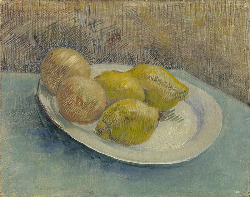 Vincent van Gogh Dish with Citrus Fruit