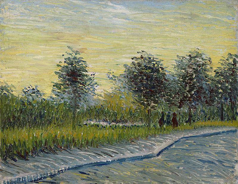 Vincent van Gogh Square Saint-Pierre at Sunset