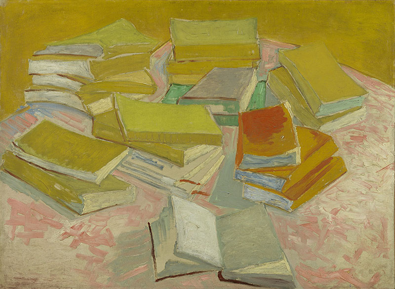 Vincent van Gogh Piles of French Novels