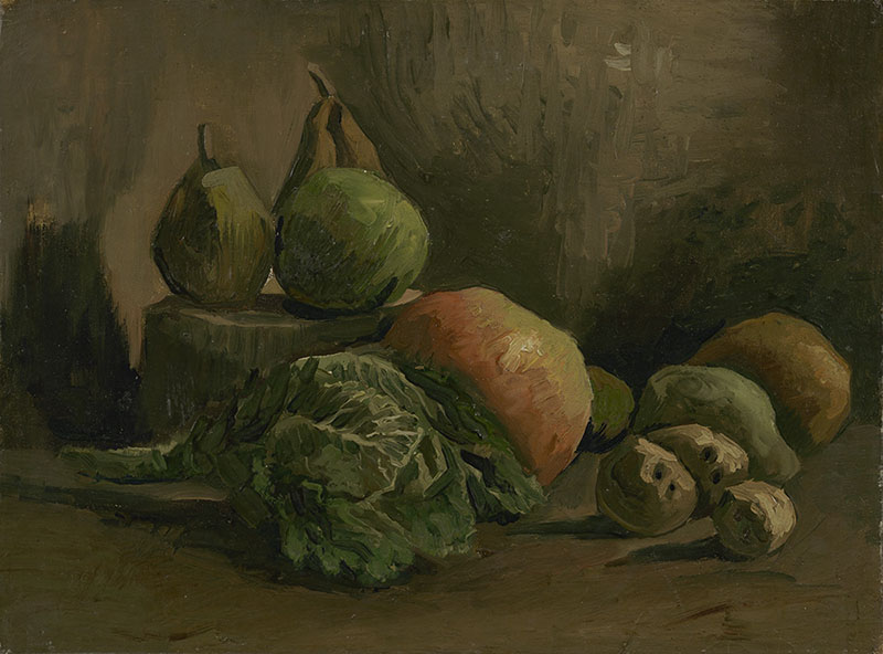 Vincent van Gogh Still Life with Vegetables and Fruit
