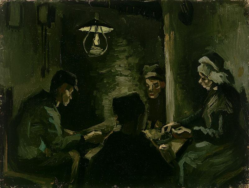 Vincent van Gogh Study for 'The Potato Eaters'